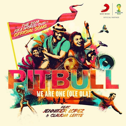 We are one Singolo Pitbull feat Jennifer Lopez Claudia Leitte